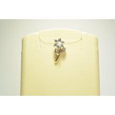 Золотая подвеска с бриллиантами 10-5