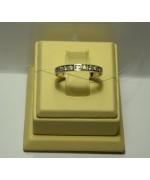 Золотое кольцо с бриллиантами 105-7