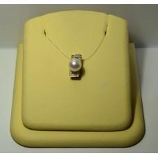 Золотая подвеска с бриллиантами 12-5