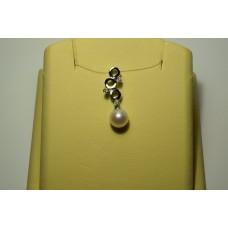 Золотая подвеска с бриллиантами 14-5