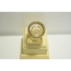 Золотое кольцо с бриллиантами 164(1900)
