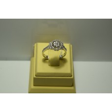 Золотое кольцо с бриллиантами 168(1100)
