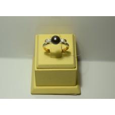 Золотое кольцо с бриллиантами 26-5
