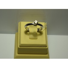 Золотое кольцо с бриллиантом 027(1100)