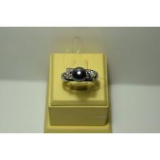 Золотое кольцо с бриллиантами 40-5