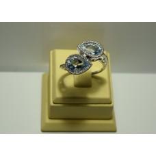 Золотое кольцо с бриллиантами 57437