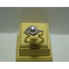 Золотое кольцо с бриллиантами 41-5