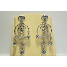 Золотые серьги с бриллиантами LO 200 В