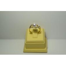 Золотое кольцо с бриллиантами 35-5
