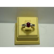 Золотое кольцо с рубином 45-5