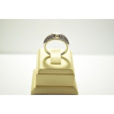 Золотое кольцо с бриллиантами 51542