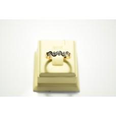 Золотое кольцо с бриллиантами 51545