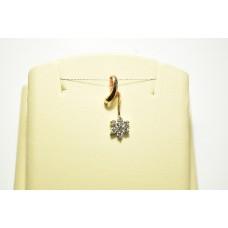 Золотая подвеска с бриллиантами 56758а