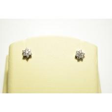 Золотые серьги с бриллиантами 58296a