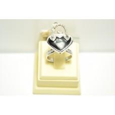 Кольцо из белого золота ROSATO-8