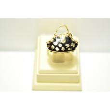 Кольцо из желтого золота ROSATO-9