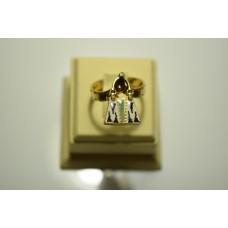 Кольцо из желтого золота ROSATO-24
