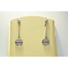 Золотые серьги с бриллиантами ROSATO-32
