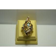 Золотое кольцо с бриллиантами 67-5