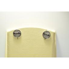 Золотые серьги с бриллиантами ROSATO-33