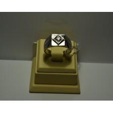 Золотое кольцо с бриллиантом 69-5