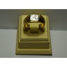 Золотое кольцо с бриллиантом 71-5