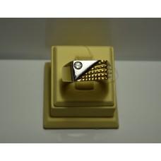 Золотое кольцо с бриллиантом 73-5
