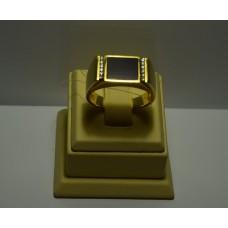Золотое кольцо с бриллиантами 76-5