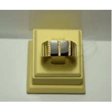 Золотое кольцо с бриллиантами 77-5