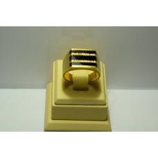 Золотое кольцо с бриллиантами 79-5