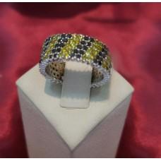 Золотое кольцо с бриллиантами R0418