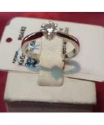 Золотое кольцо с бриллиантами R0462